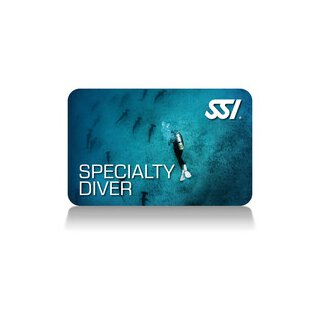 SSI Specialty Diver Bundle